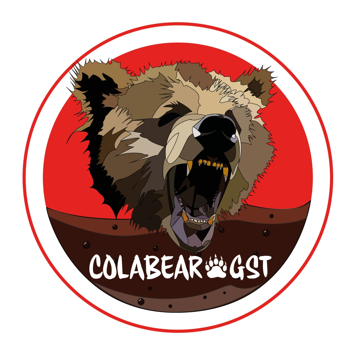 Cola bear logo v2